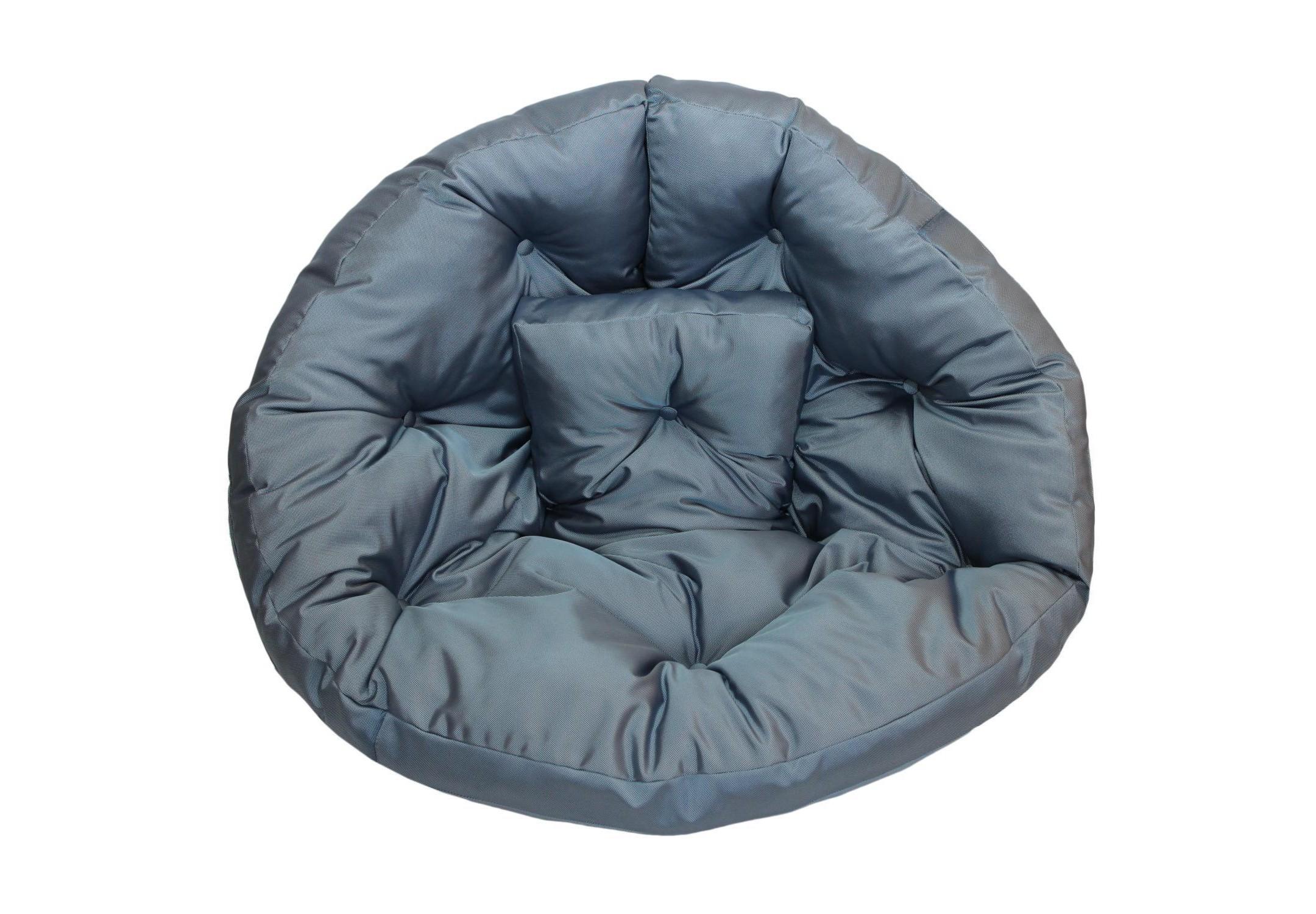 Кресло-футон Sky BlueБесформенные пуфы<br>Кресло-футон станет функциональной частью вашего интерьера, как дома, так и на улице. Вы можете уютно разместиться  в кресле или с легкостью превратить его в очень мягкий матрас-футон. Так же при помощи липучек вы можете соединить два футона и сделать один большой матрас для загара под солнцем или отдыха дома. Кресло сшито из очень плотной ткани с водоотталкивающим покрытием с внешней стороны, поэтому идеально подойдет для уличного декора.При загрязнении его достаточно протереть мокрой салфеткой.<br><br>Material: Текстиль<br>Ширина см: 200<br>Глубина см: 100