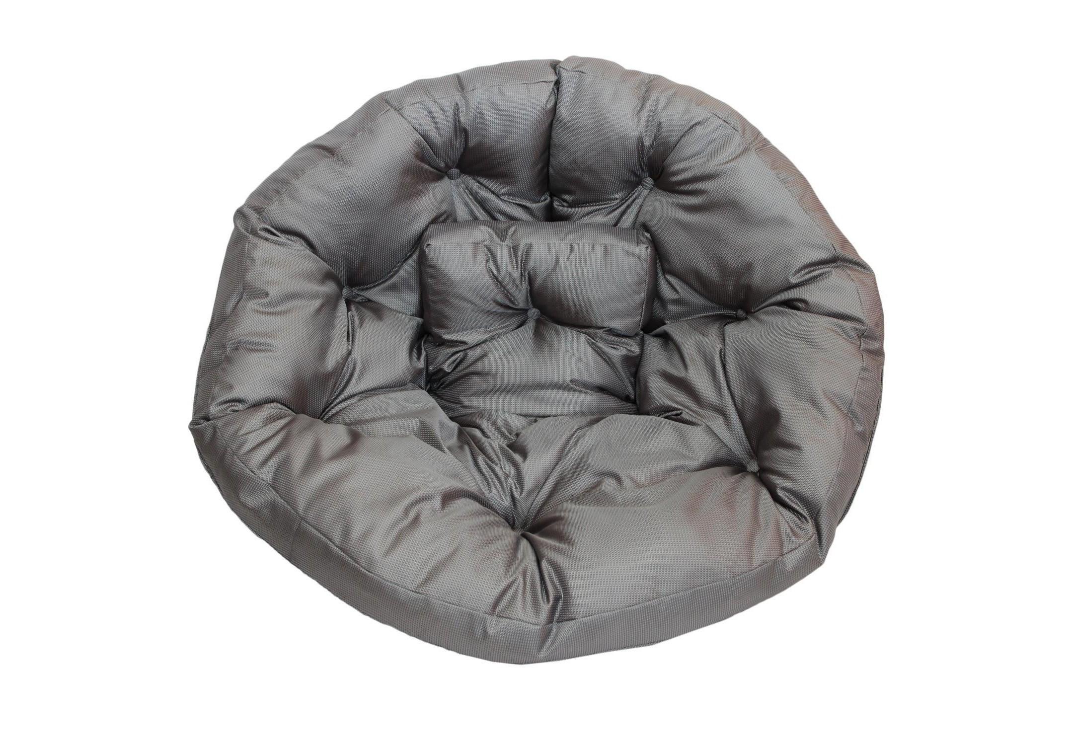Кресло-футон  SilverКресла-мешки<br>Кресло-футон станет функциональной частью вашего интерьера, как дома, так и на улице. Вы можете уютно разместиться  в кресле или с легкостью превратить его в очень мягкий матрас-футон. Так же при помощи липучек вы можете соединить два футона и сделать один большой матрас для загара под солнцем или отдыха дома. Кресло сшито из очень плотной ткани с водооталкивающим покрытием с внешней стороны, поэтому идеально подойтет для уличного декора.При загрязнении его достаточно протереть мокрой салфеткой.<br><br>Material: Текстиль<br>Length см: None<br>Width см: 200<br>Depth см: 100<br>Height см: 10
