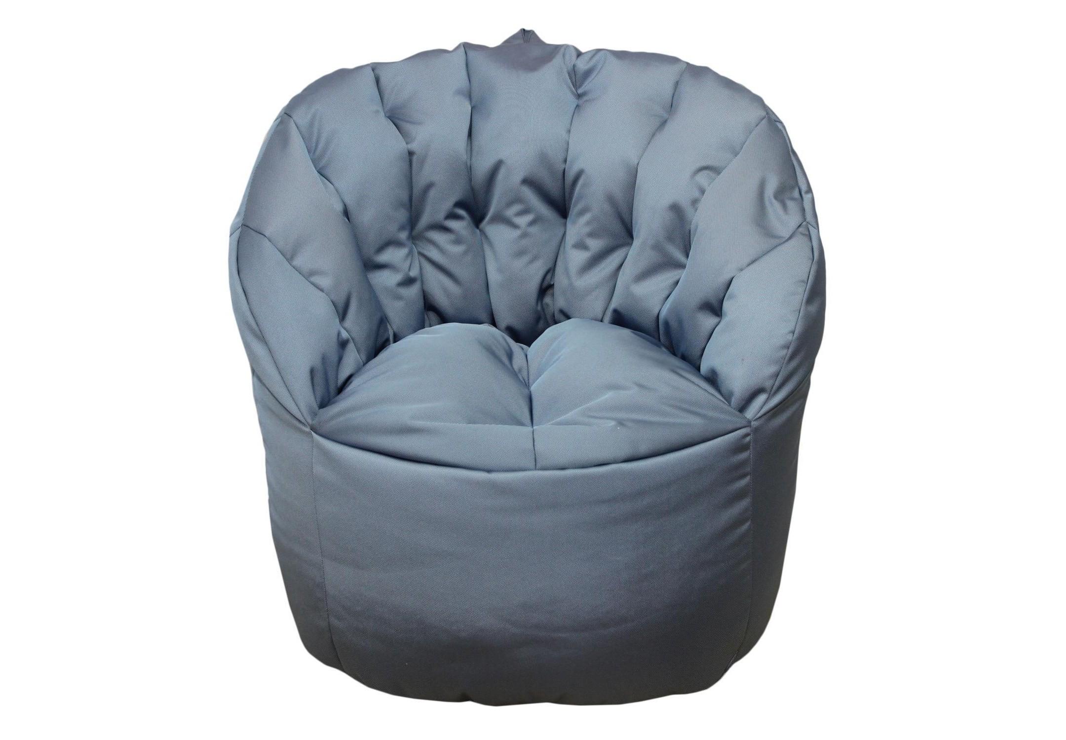 Уличное кресло- пуф  Sky BlueФорменные пуфы<br>Очень комфортное и  легкое  кресло-пуф станет неотъемлемой частью вашего интерьера как дома ,так и на улице. Сиденье и спинка кресла великолепно поддерживают и принимают форму тела, обеспечивая комфортный отдых. Читайте книгу, общайтесь с друзьями или просто наслаждайтесь лучами летнего солнца удобно разместившись в этом кресле!  Оно сшито из очень плотной ткани с водооталкивающим покрытием с внешней стороны, поэтому идеально подойдет для уличного декора.При загрязнении его достаточно протереть мокрой салфеткой.<br><br>Material: Текстиль<br>Length см: None<br>Width см: 80<br>Depth см: 60<br>Height см: 90