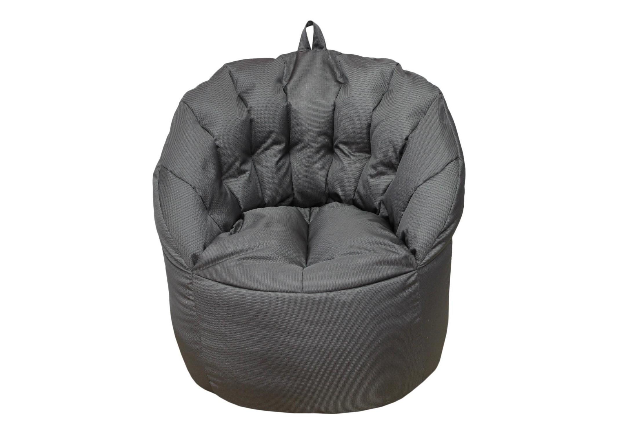 Уличное кресло- пуф SilverФорменные пуфы<br>Очень комфортное и  легкое  кресло-пуф станет неотъемлемой частью вашего интерьера как дома ,так и на улице. Сиденье и спинка кресла великолепно поддерживают и принимают форму тела, обеспечивая комфортный отдых. Читайте книгу, общайтесь с друзьями или просто наслаждайтесь лучами летнего солнца удобно разместившись в этом кресле!  Оно сшито из очень плотной ткани с водооталкивающим покрытием с внешней стороны, поэтому идеально подойдет для уличного декора.При загрязнении его достаточно протереть мокрой салфеткой.<br><br>Material: Текстиль<br>Length см: None<br>Width см: 80<br>Depth см: 60<br>Height см: 90