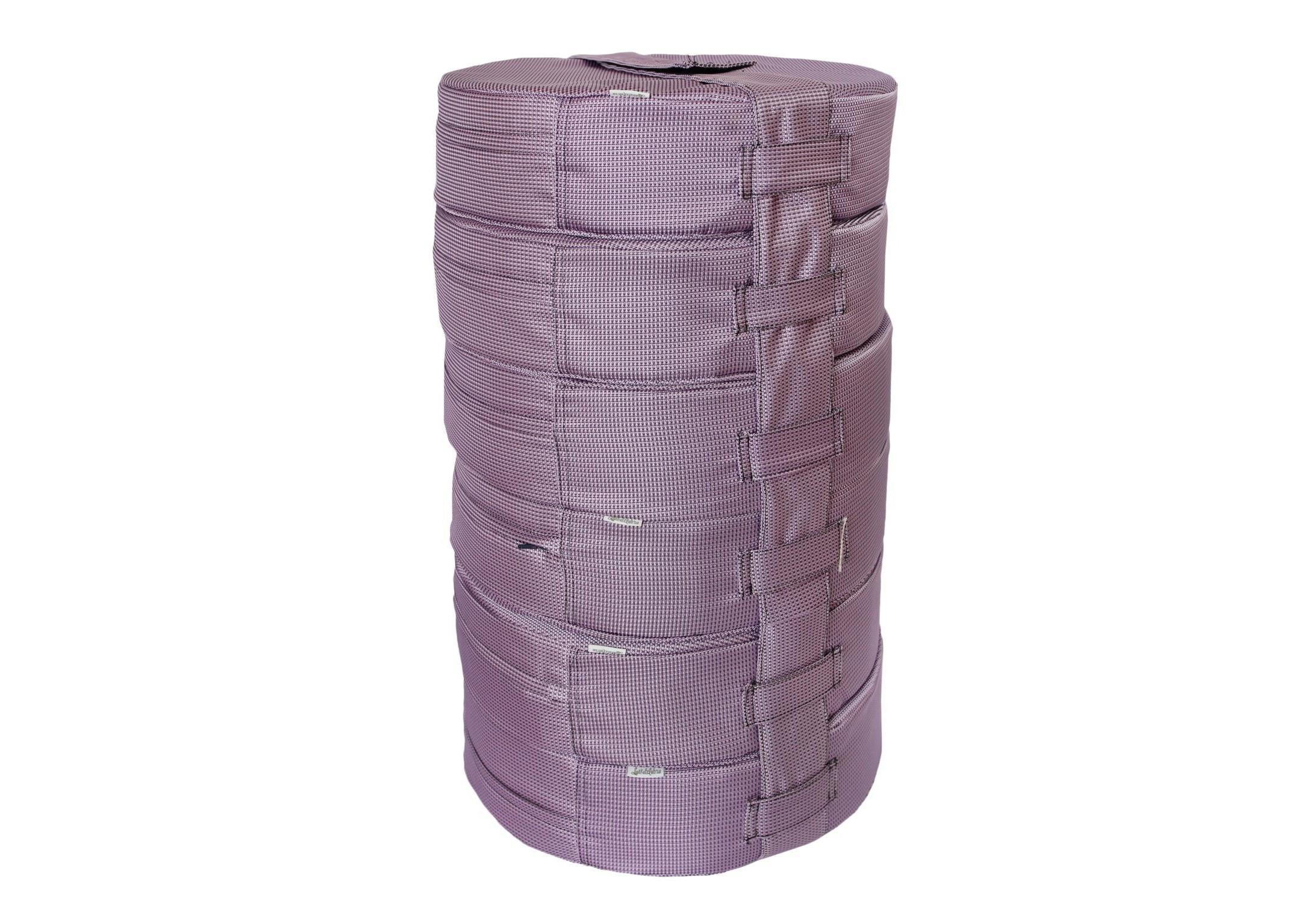 Подушка на пол lupin (6шт)Форменные пуфы<br>Мягкие и очень удобные подушки на пол из водооталкивающей ткани с наполнителем из поролона станут функциональным предметом для комфортного отдыха. Контраст вставки с основным цветом изделия добавит изюминку в ваше пространство! Подушка сшита из очень плотной ткани с водооталкивающей пропиткой с внешней стороны, поэтому идеально подойдет для уличного декора. Набор подушек удобно хранить и перевозить в машине, за счет компактной упаковки. При загрязнении ее достаточно протереть влажной салфеткой!&amp;amp;nbsp;&amp;lt;div&amp;gt;&amp;lt;br&amp;gt;&amp;lt;/div&amp;gt;&amp;lt;div&amp;gt;Размер каждой подушки 10х40 см.&amp;amp;nbsp;&amp;lt;/div&amp;gt;<br><br>Material: Текстиль<br>Height см: 60<br>Diameter см: 40