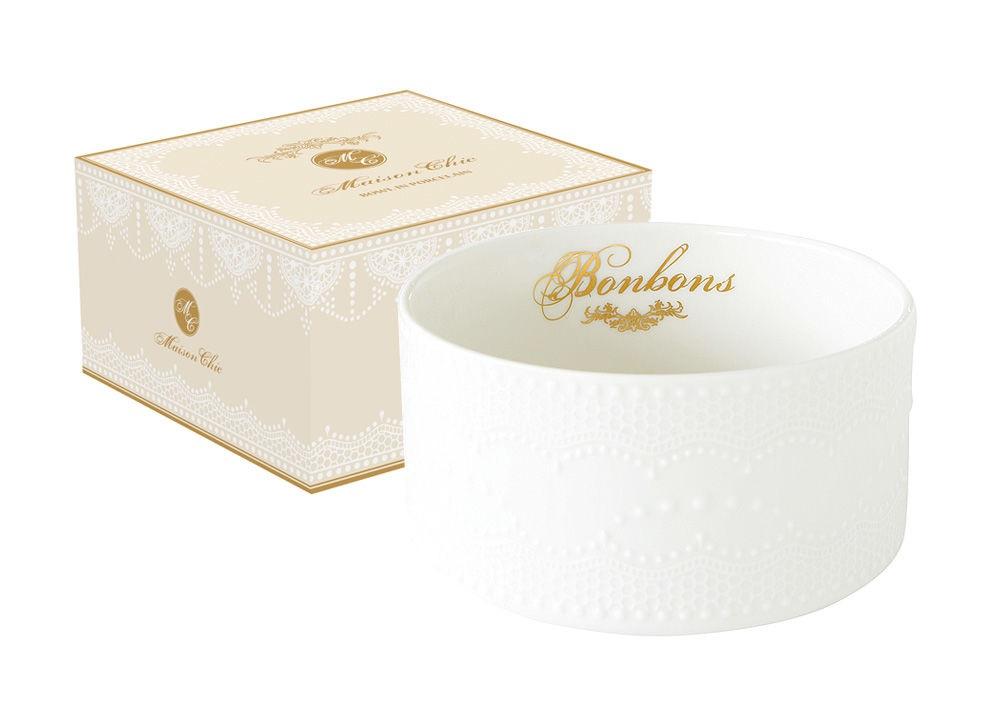 Салатник Белое кружевоМиски и чаши<br><br><br>Material: Фарфор<br>Высота см: 7