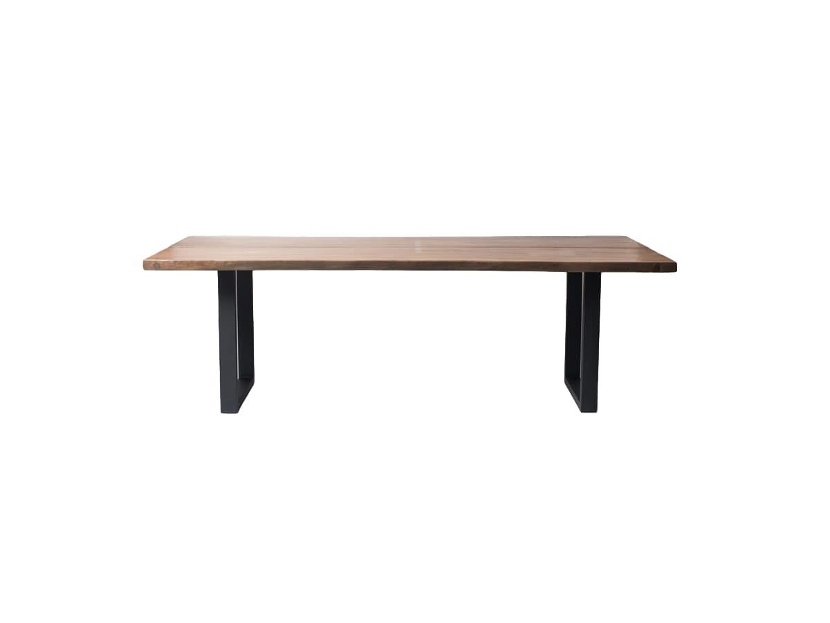 Стол ButterflyОбеденные столы<br>Столешница ( толщина 6 см) состоит из двух симметричных по рисунку спилов суара, скрепленных между собой. Отполированная гладь ценного дерева эффектно сочетается с металлическими рамками ножек.&amp;amp;nbsp;&amp;lt;div&amp;gt;&amp;lt;br&amp;gt;&amp;lt;/div&amp;gt;&amp;lt;div&amp;gt;Материал: суар (дерево)&amp;lt;/div&amp;gt;<br><br>Material: Дерево<br>Length см: None<br>Width см: 240<br>Depth см: 110<br>Height см: 78<br>Diameter см: None