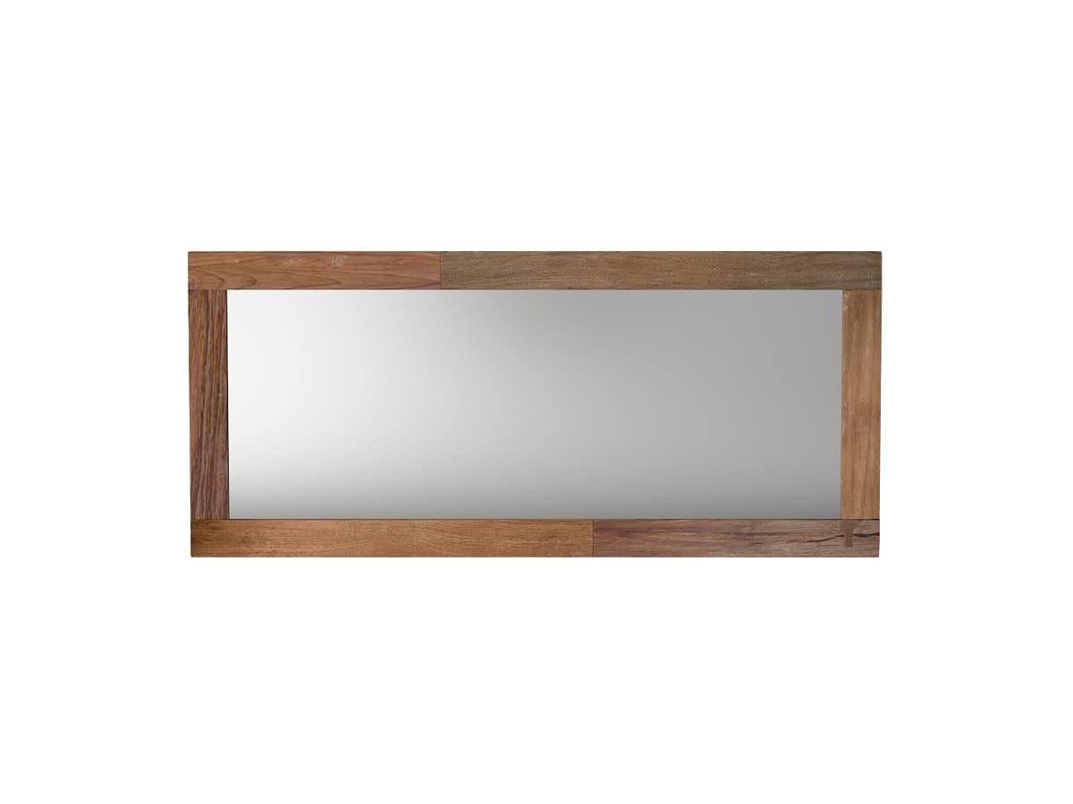 Зеркало FlemingНастенные зеркала<br><br><br>Material: Тик<br>Ширина см: 180<br>Высота см: 80<br>Глубина см: 3
