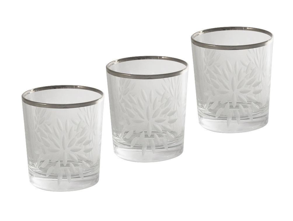 Набор стаканов для виски Умбрия Матовая - платина (6 шт)Стаканы<br>Объем одного стакана 0,3 л<br><br>Material: Хрусталь<br>Высота см: 9
