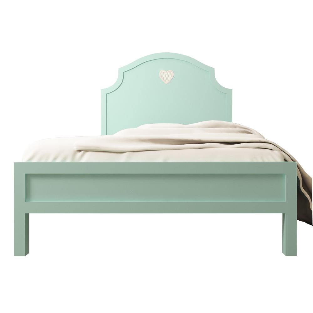 Кровать AdelinaДеревянные кровати<br>Размер матраса: 120*190<br><br>Material: Дерево<br>Width см: 125<br>Depth см: 195<br>Height см: 135