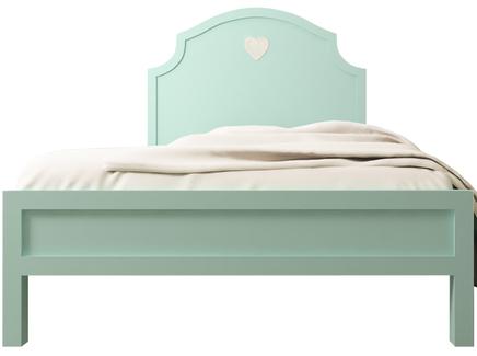 Кровать adelina (etg-home) зеленый 125x135x195 см.