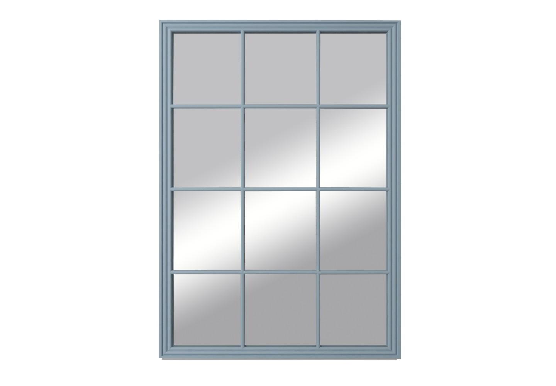 Зеркало florence (etg-home) голубой 100.0x140.0x3.0 см. фото