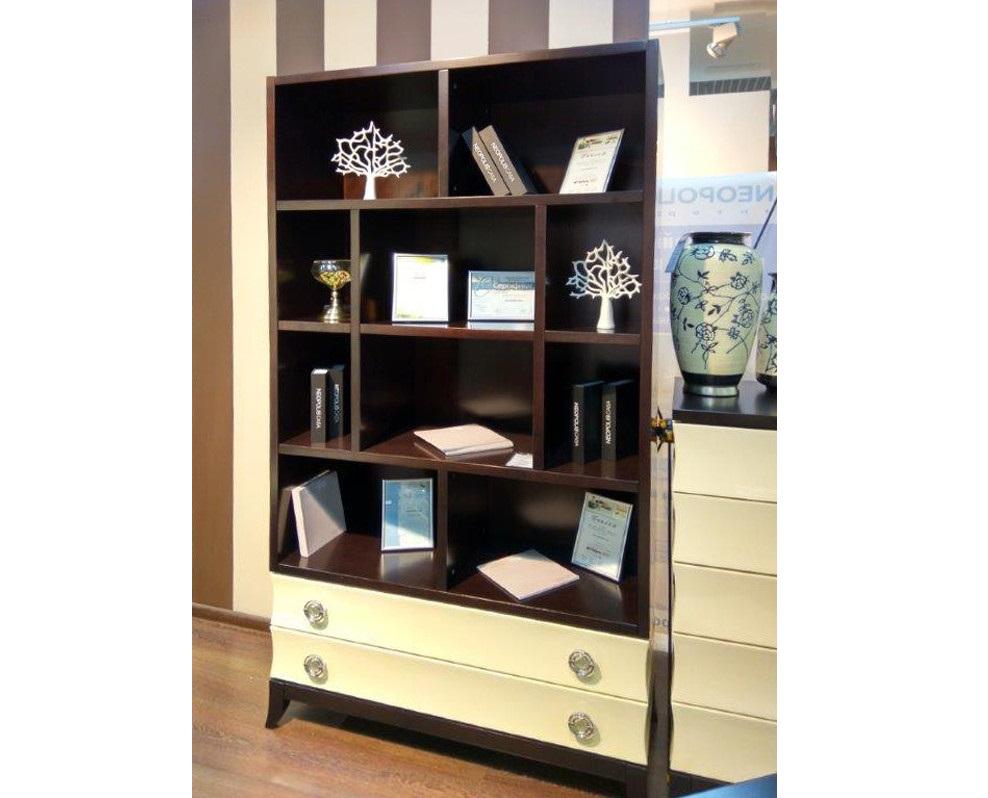 Книжный шкаф PratoКнижные шкафы и библиотеки<br>Книжный шкаф. Оснащен 2  выдвижными ящиками.<br><br>Material: МДФ<br>Width см: 110<br>Depth см: 200<br>Height см: 42