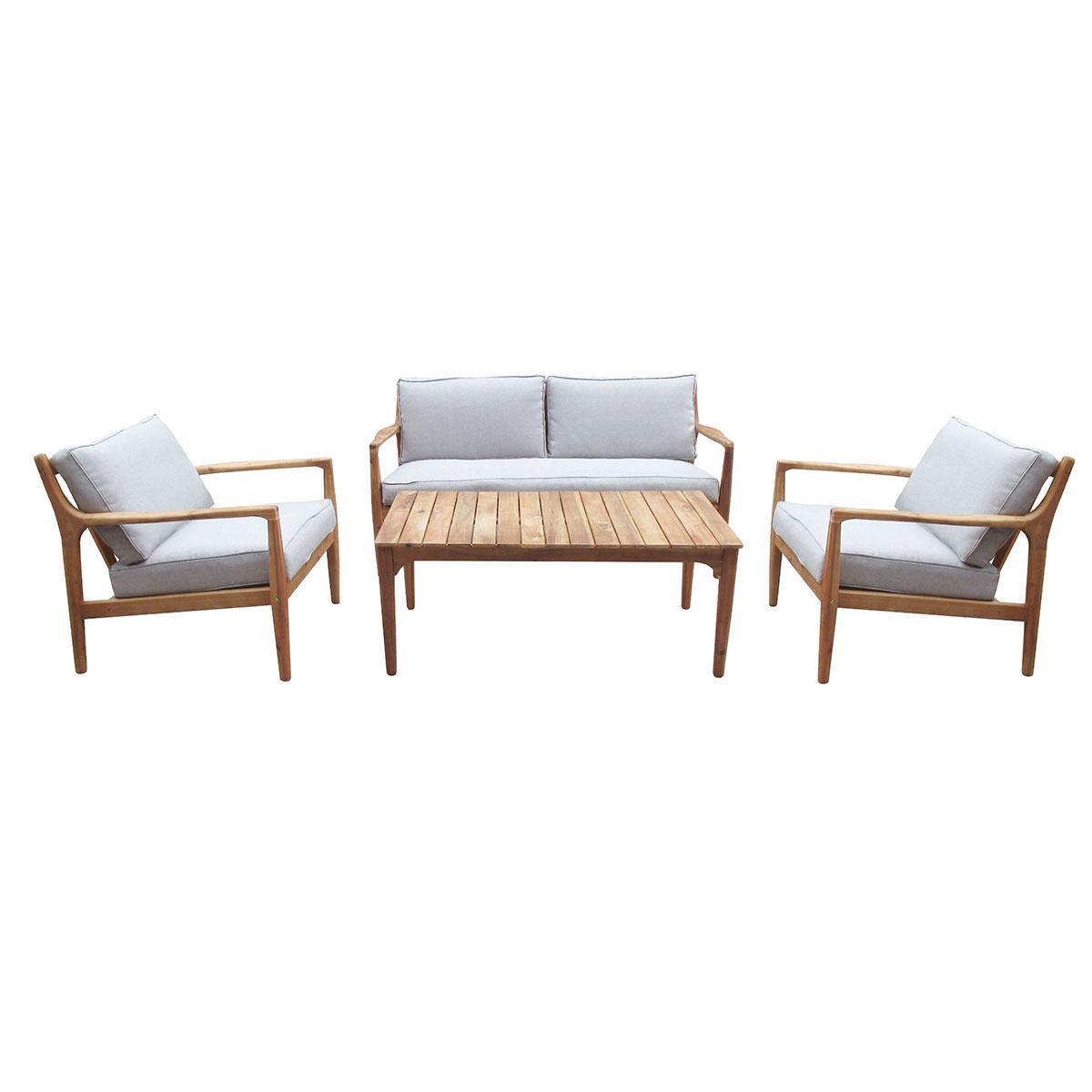 Комплект мебели из акации ManchesterКомплекты уличной мебели<br>Manchester - комплект мебели из акации, состоящий из дивана, двух кресел и стола. Комплект изготовлен из акации, окрашенной в цвет &amp;quot;тик&amp;quot;. Подушки включены в стоимость.&amp;amp;nbsp;&amp;lt;div&amp;gt;&amp;lt;br&amp;gt;&amp;lt;/div&amp;gt;&amp;lt;div&amp;gt;Размеры:&amp;amp;nbsp;&amp;lt;/div&amp;gt;&amp;lt;div&amp;gt;Диван 148 см*75 см*73 см&amp;amp;nbsp;&amp;lt;/div&amp;gt;&amp;lt;div&amp;gt;Кресло 73 см*75 см*73 см&amp;amp;nbsp;&amp;lt;/div&amp;gt;&amp;lt;div&amp;gt;Стол 110 см*60 см*45 см&amp;lt;/div&amp;gt;<br><br>Material: Акация