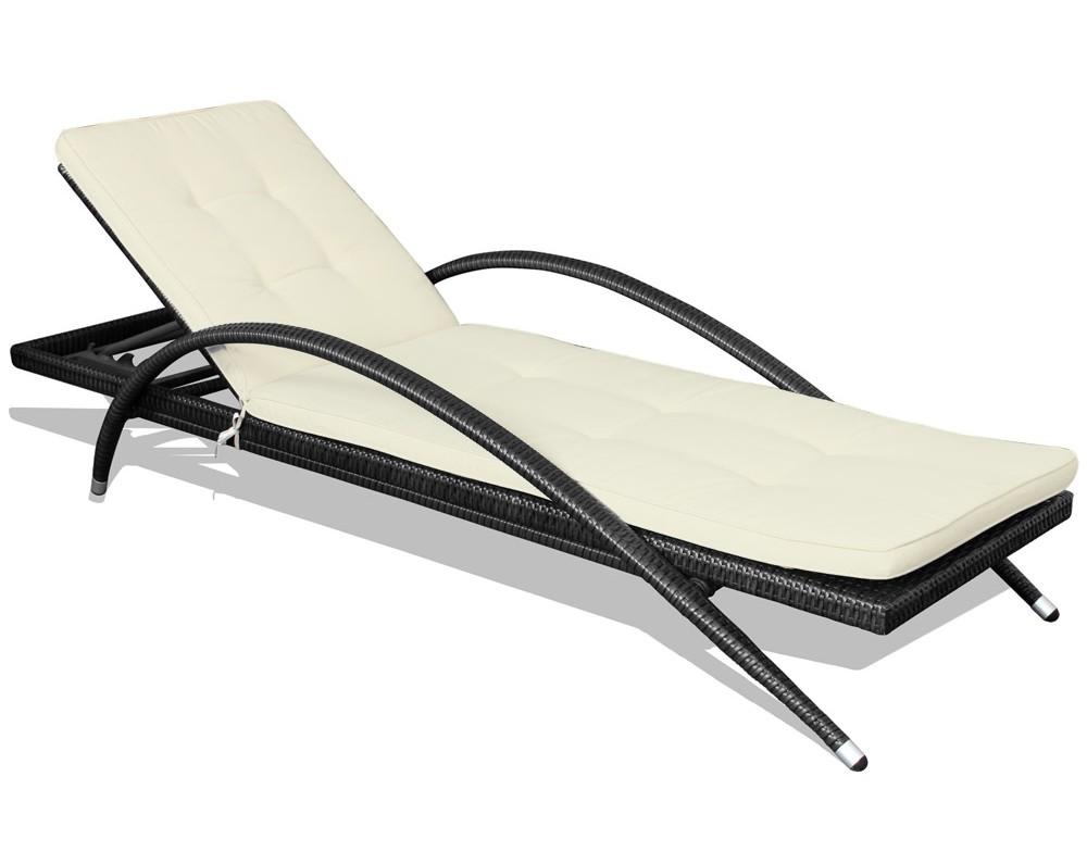 Лежак OrbitЛежаки<br>Плетеный лежак Orbit сделает ваш отдых на свежем воздухе еще более приятным. В комплекте с лежаком поставляется мягкая подушка бежевого цвета толщиной 5 см. Спинка лежака имеет несколько положений наклона.<br>Каркас лежака выполнен из алюминия, что делает его очень легким.&amp;amp;nbsp;<br><br>Material: Искусственный ротанг<br>Ширина см: 200<br>Высота см: 46<br>Глубина см: 72