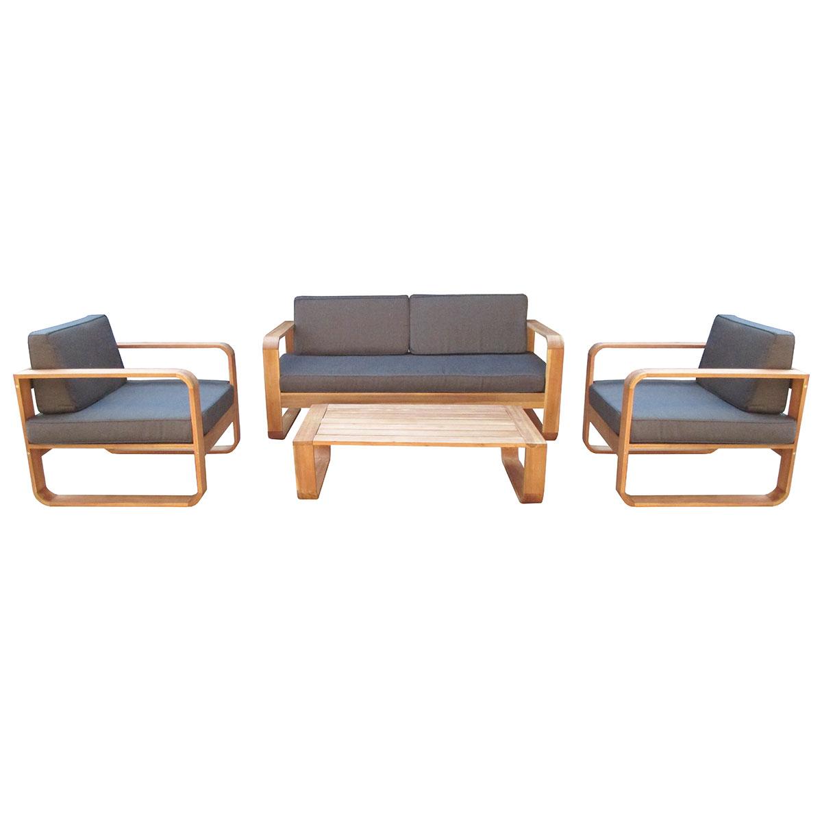 Комплект BellavistaКомплекты уличной мебели<br>Bellavista состоит из двух кресел, двухместного дивана и прямоугольного стола размером 110х66 см. Требуется сборка.<br>Комплект изготовлен из акации, окрашенной в цвет &amp;quot;тик&amp;quot;.<br>Подушки коричневого цвета включены в стоимость.&amp;amp;nbsp;&amp;lt;div&amp;gt;&amp;lt;br&amp;gt;&amp;lt;/div&amp;gt;&amp;lt;div&amp;gt;Диван:<br>Длина: 168 см<br>Ширина: 79 см<br>Высота: 62 см&amp;amp;nbsp;&amp;lt;/div&amp;gt;&amp;lt;div&amp;gt;Кресло:<br>Длина: 84 см<br>Ширина: 79 см<br>Высота: 62 см&amp;amp;nbsp;&amp;lt;/div&amp;gt;&amp;lt;div&amp;gt;Стол:<br>Длина: 110 см<br>Ширина: 66 см<br>Высота: 30 см&amp;lt;/div&amp;gt;<br><br>Material: Дерево<br>Length см: None<br>Width см: 168<br>Depth см: 79<br>Height см: 62