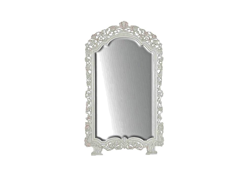 Зеркало напольноеНапольные зеркала<br>Большое зеркало в резной раме из дерева махагони ручной работы.<br><br>Material: Красное дерево<br>Width см: 139<br>Depth см: 8<br>Height см: 229