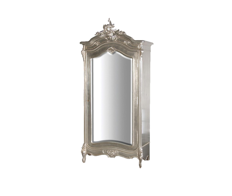 Шкаф платянойПлатяные шкафы<br>Платяной шкаф с зеркалом, декорирован резьбой ручной работы и искусственным старением .<br><br>Material: Красное дерево<br>Width см: 108<br>Depth см: 59<br>Height см: 236