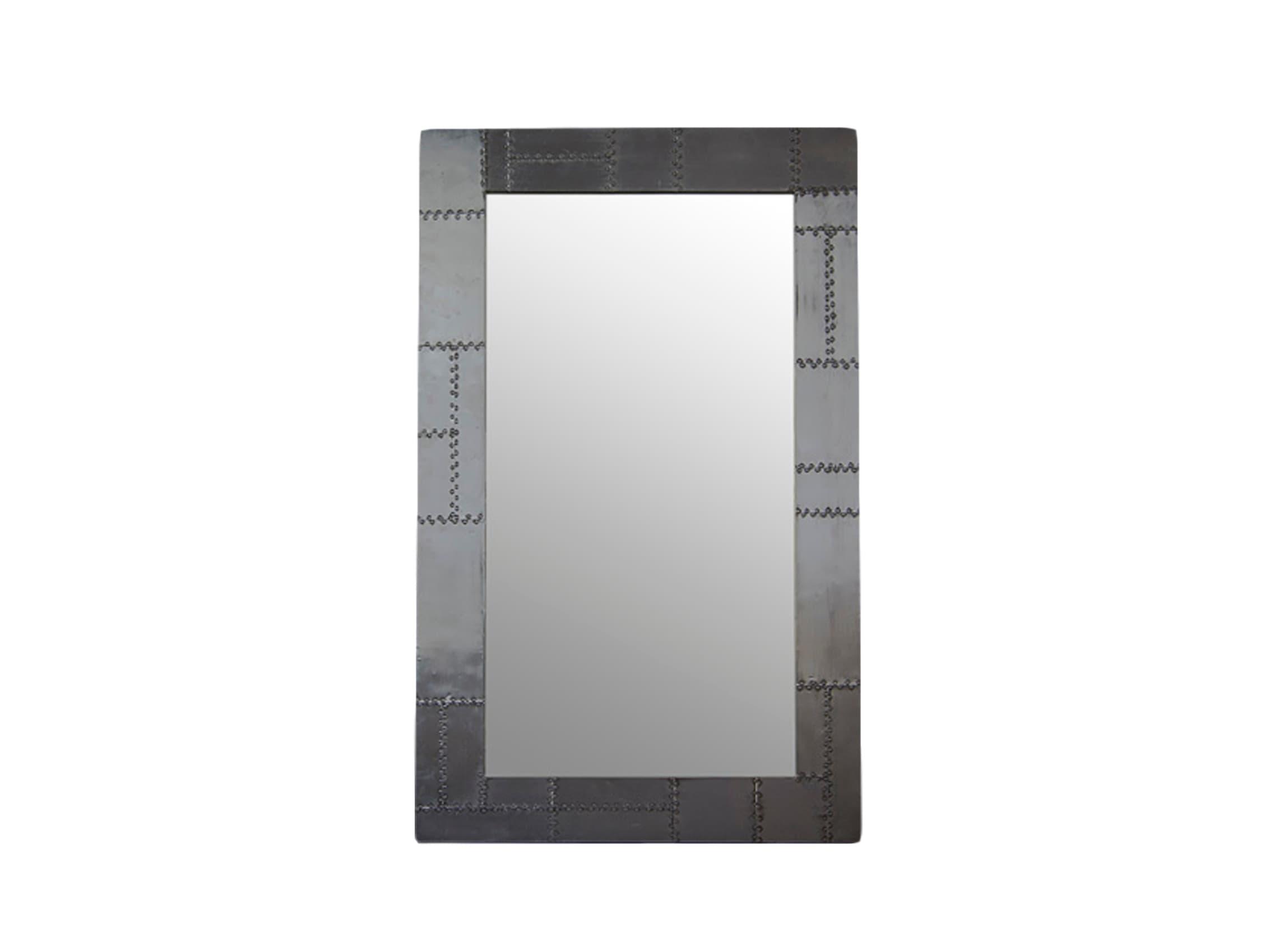 ЗеркалоНастенные зеркала<br>Зеркало в раме из дерева махагони, декорированной металлом.<br><br>Material: Металл<br>Width см: 100<br>Depth см: 3<br>Height см: 165