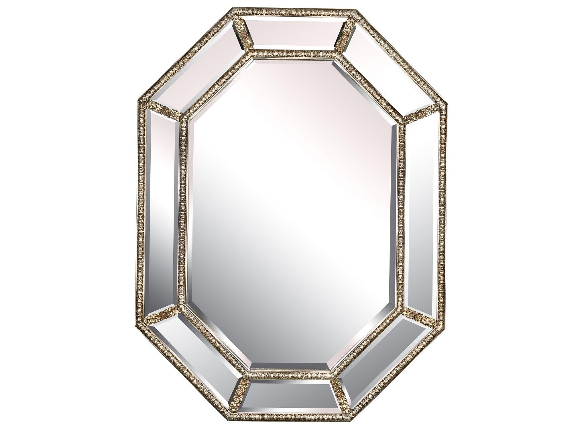 Зеркало в раме Diamond SilverНастенные зеркала<br>Оригинальная рама является изюминкой этого зеркала, выполненного в английском стиле. Она придает дизайну элегантность и делает облик декора по-настоящему благородным. Изящество тонким линиям силуэта дарит резная отделка. Выполненная в виде различных флористичных узоров, она привносит в строгий образ романтизм. Последний находит свое продолжение в винтажном флере, выраженном в патинировании.&amp;lt;div&amp;gt;&amp;lt;br&amp;gt;&amp;lt;/div&amp;gt;&amp;lt;div&amp;gt;Влагостойкое серебряное зеркало.&amp;lt;/div&amp;gt;&amp;lt;div&amp;gt;Материал рамы: дерево/полиуретан.&amp;lt;/div&amp;gt;&amp;lt;div&amp;gt;Цвет зеркала/рамы: античное серебро.&amp;lt;/div&amp;gt;&amp;lt;div&amp;gt;Размер внешний, с рамой: 90*120 см.&amp;lt;/div&amp;gt;&amp;lt;div&amp;gt;Вес: 18,5 кг.&amp;lt;/div&amp;gt;<br><br>Material: Дерево