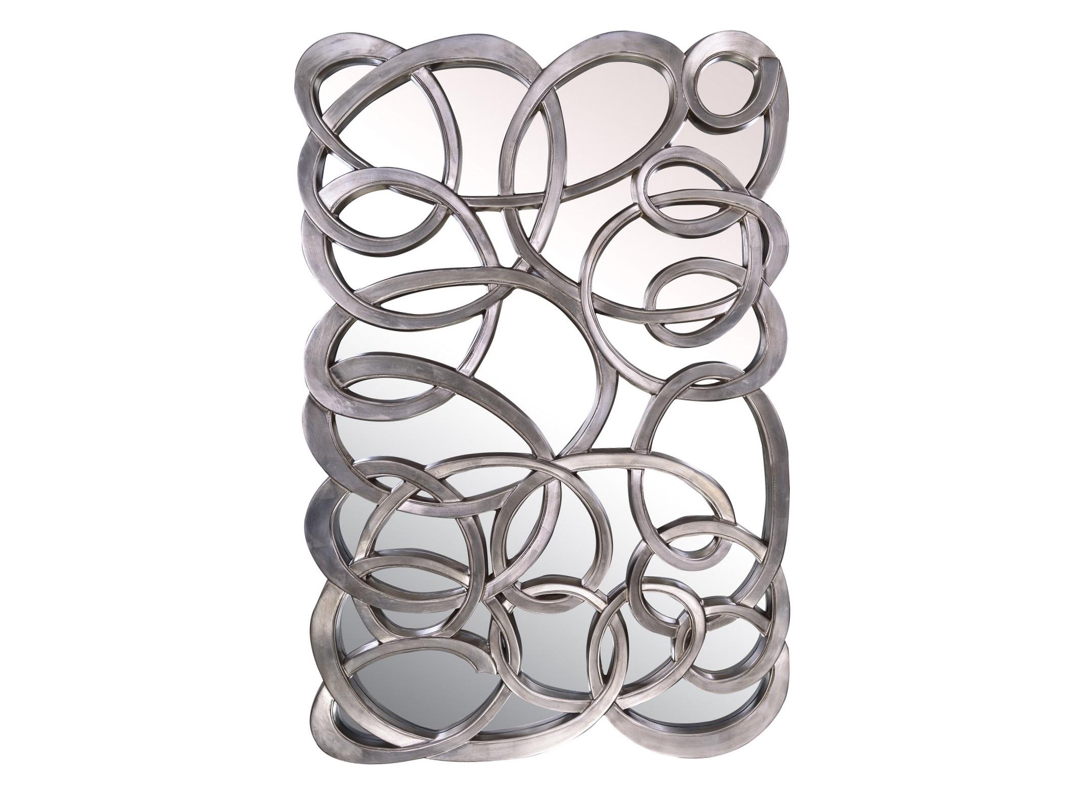 Зеркальное панно ComplexityНастенные зеркала<br>Зеркальное панно COMPLEXITY более полутора метров в высоту - оригинальный и смелый предмет декора интерьера. Такое украшение отлично впишется в современный интерьер, оформленный в стиле ар-деко.<br><br>Цвет: Серебро<br>Материал: Полиуретан<br><br>Material: Стекло<br>Length см: None<br>Width см: 102.0<br>Depth см: None<br>Height см: 155.0<br>Diameter см: None