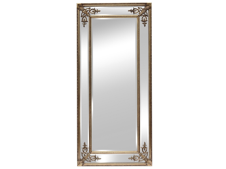 Напольное зеркало в раме