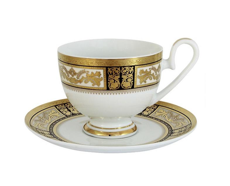 Чашка с блюдцем ЕлизаветаЧайные пары, чашки и кружки<br><br><br>Material: Фарфор