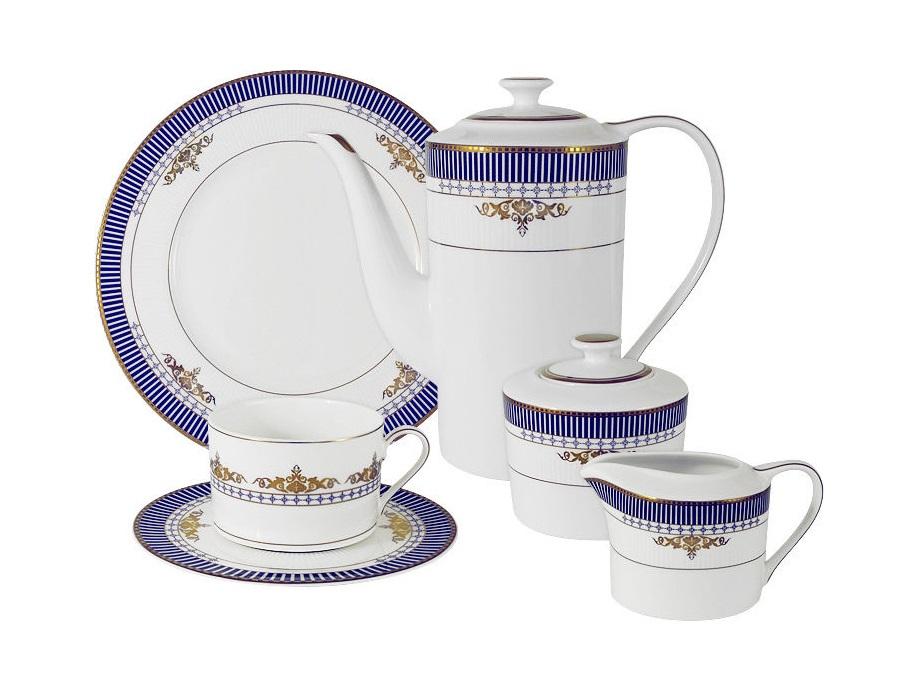 Чайный сервиз Флагман 21 предм.на 6 персонЧайные сервизы<br><br><br>Material: Фарфор