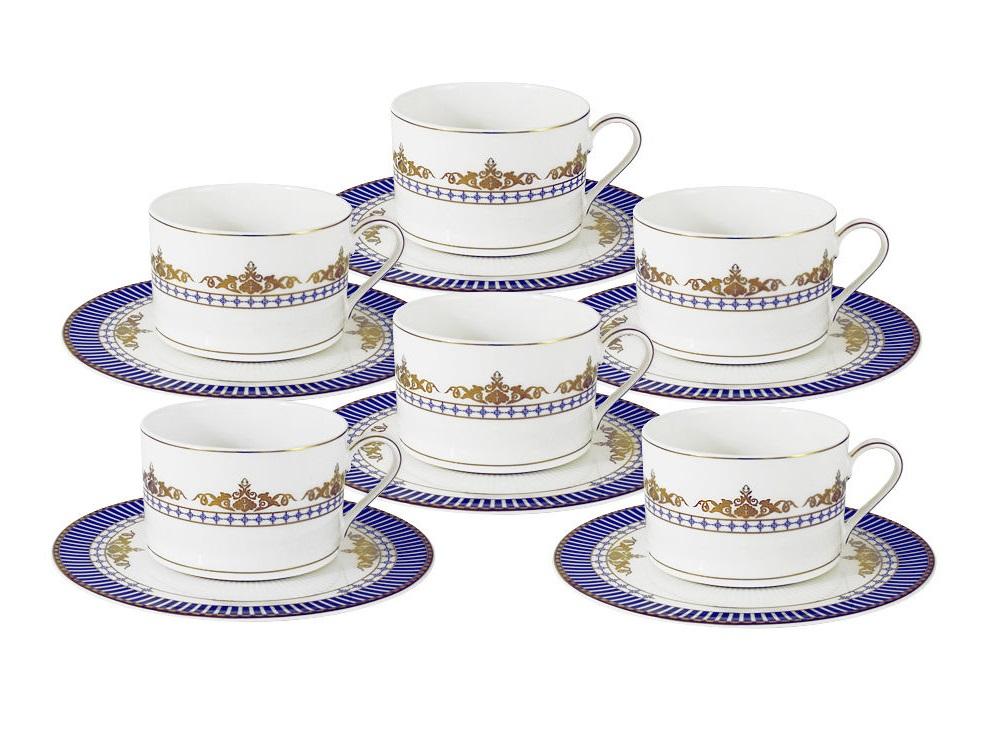 "Чайный набор ""Флагман"" 6 чашек + 6 блюдец"