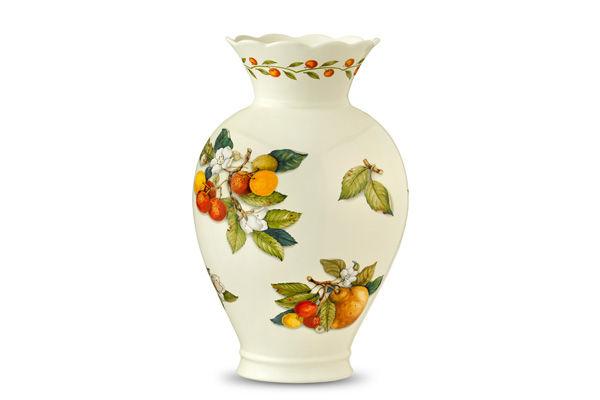 Ваза для цветов Итальянские фруктыВазы<br><br><br>Material: Керамика<br>Height см: 25<br>Diameter см: 31