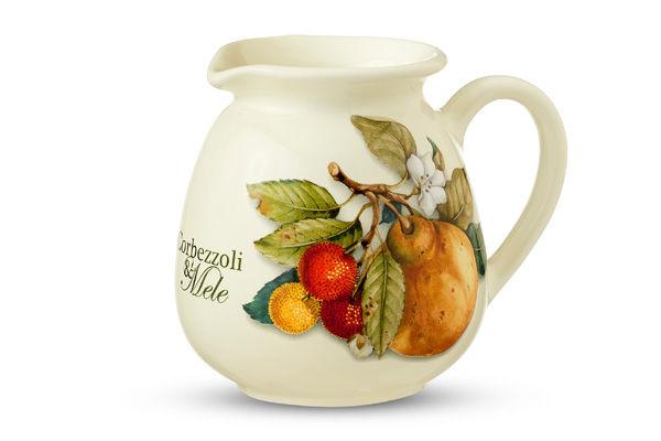 Сливочник Итальянские фруктыКувшины и графины<br>Объем: 0,4 л.<br><br>Material: Керамика<br>Высота см: 13