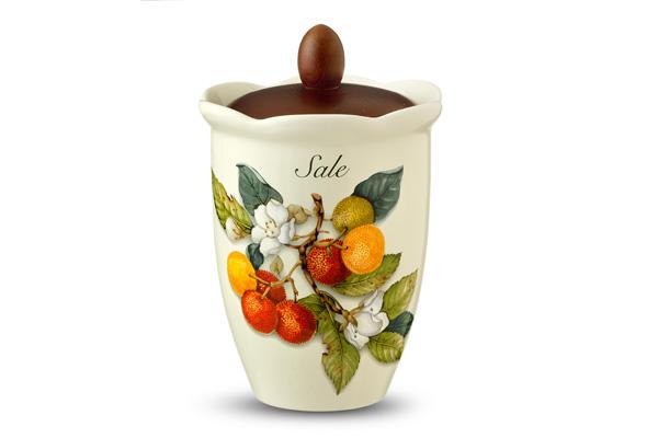 Банка для сыпучих продуктов Итальянские фруктыЕмкости для хранения<br>Объем: 0,8 л.<br><br>Material: Керамика<br>Width см: None<br>Height см: 21<br>Diameter см: 15