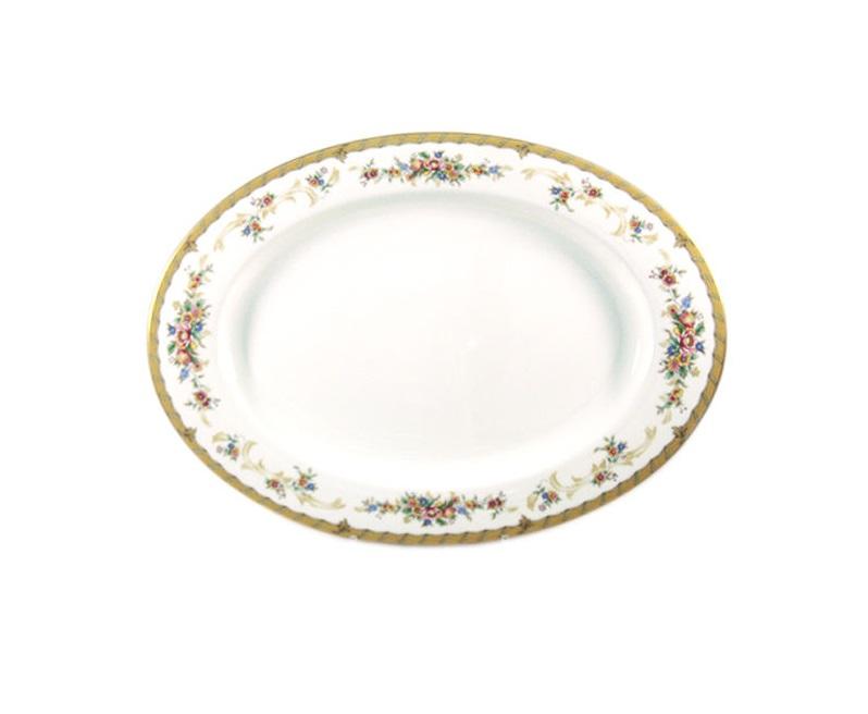 Блюдо НаслаждениеДекоративные блюда<br><br><br>Material: Фарфор<br>Diameter см: 38