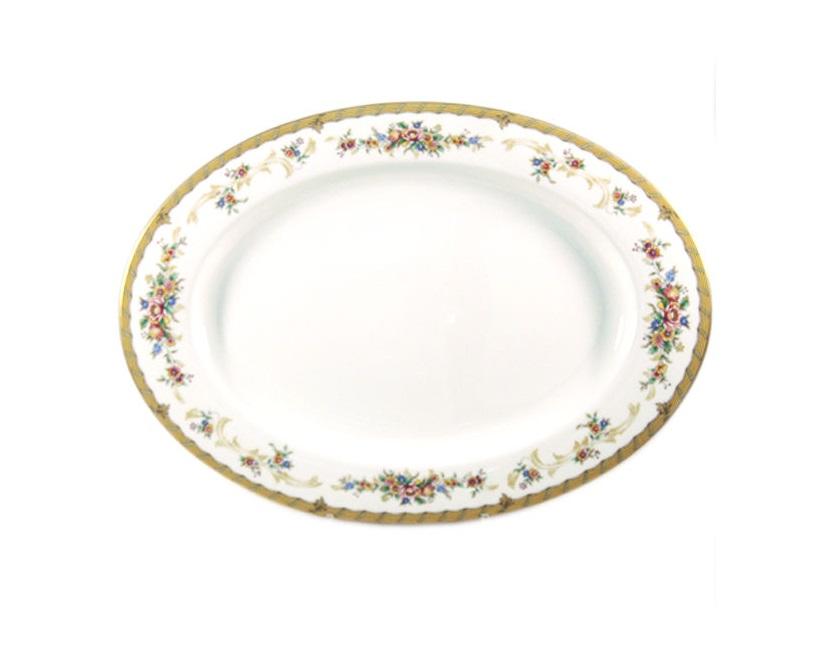 Блюдо НаслаждениеДекоративные блюда<br><br><br>Material: Фарфор<br>Diameter см: 44