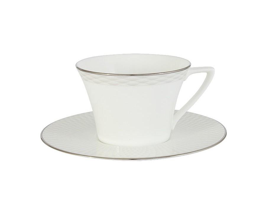 Чашка с блюдцем БризЧайные пары, чашки и кружки<br>Объем: 0,24 л.<br><br>Material: Фарфор