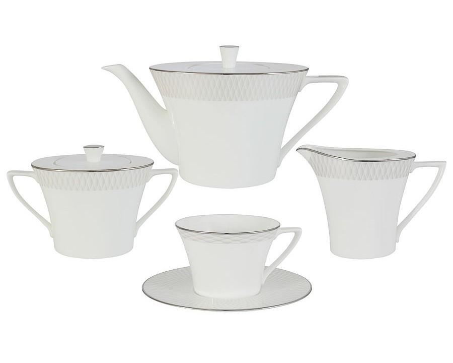 Чайный сервиз из 17 предметов на 6 персон