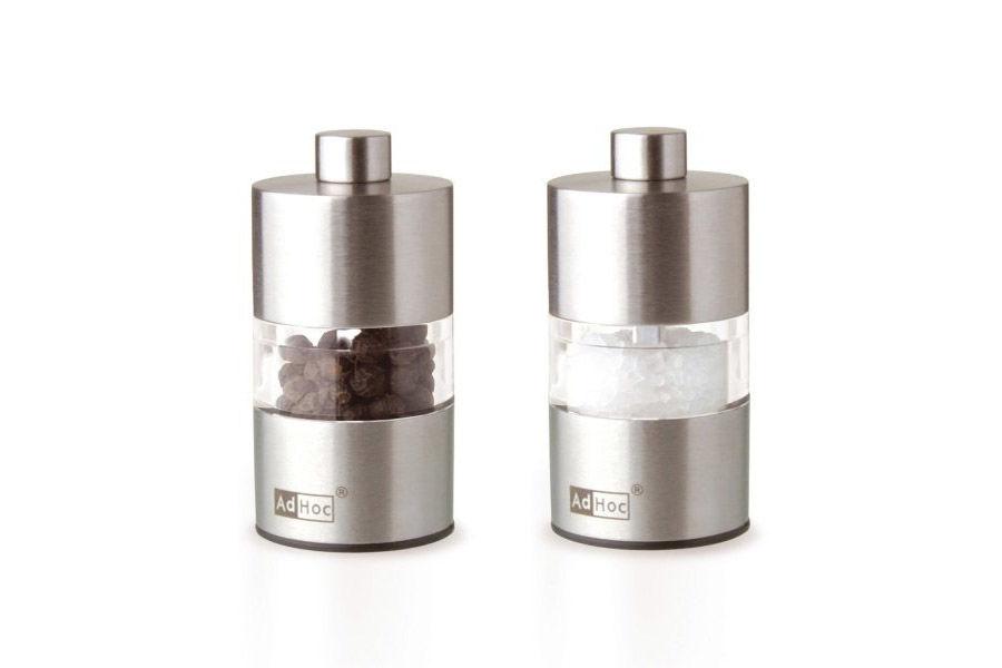 Набор мельниц для соли и перцаНабор для специй<br><br><br>Material: Сталь<br>Height см: 6,2