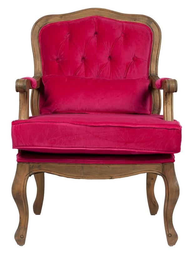 Кресло MauriceИнтерьерные кресла<br>Кресло &amp;quot;Maurice&amp;quot; ? яркий акцент, способный задать настроение оформлению гостиной, лаунжа или будуара. Его царственные изгибы и привлекающая к себе внимание обивка сочного красного цвета указывают на принадлежность к французскому стилю. Так же, как античная древесина в сочетании с вельветом является данью этому дизайну, преисполненному роскоши.&amp;lt;div&amp;gt;&amp;lt;br&amp;gt;&amp;lt;/div&amp;gt;&amp;lt;div&amp;gt;Материал: деревянное основание (под антик).Обивка: вельвет.Вес: 14,5 кг.&amp;lt;/div&amp;gt;<br><br>Material: Вельвет<br>Width см: 68<br>Depth см: 68<br>Height см: 95