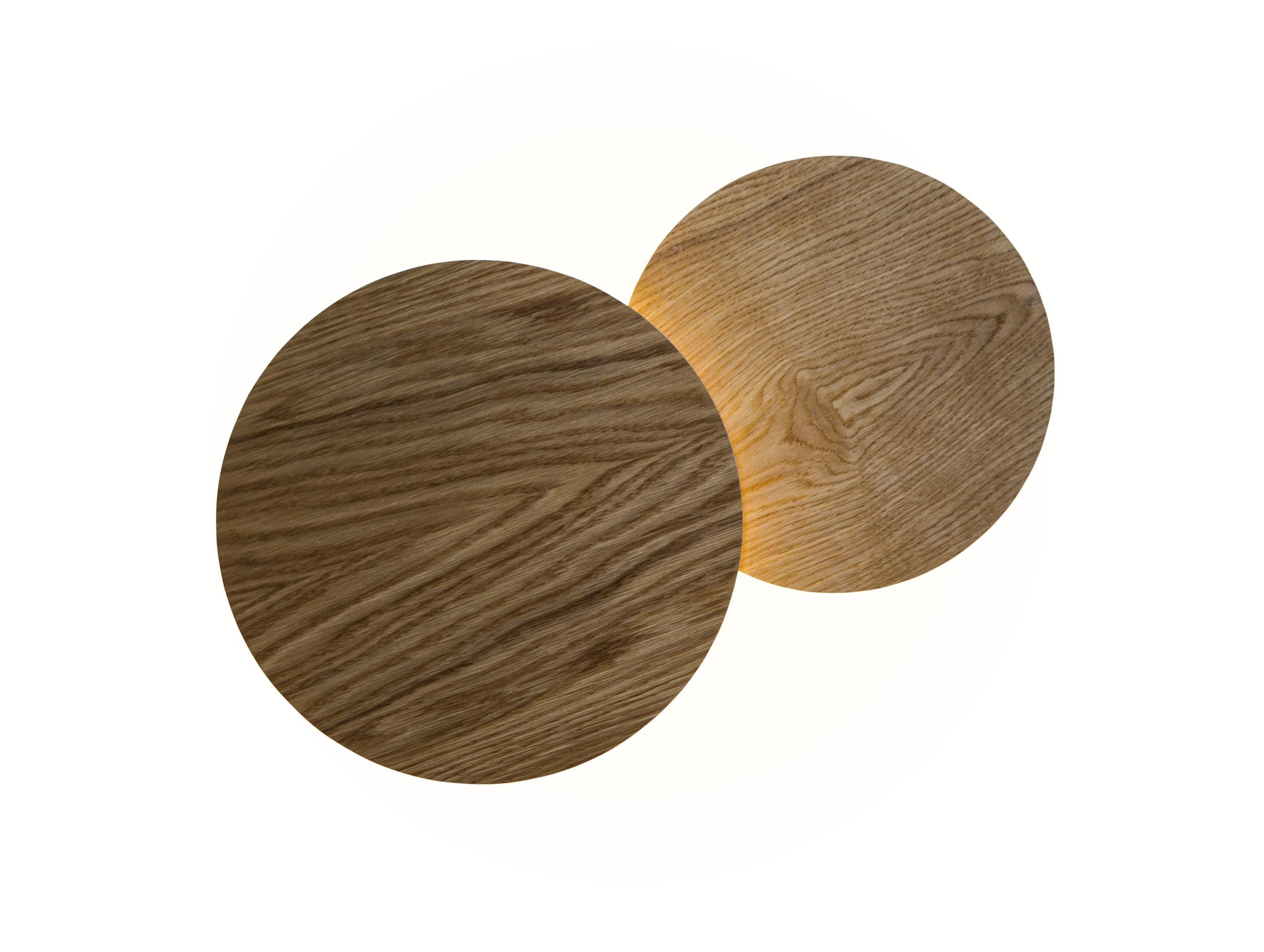 Бра ЗатмениеБра<br>&amp;lt;div&amp;gt;Представляем стильный дуэт настенных светильников из кругов. Лаконичные формы плафонов создают умиротворяющую и спокойную композицию, основанную на качественных материалах и точных инженерных решениях. Плафоны располагаются на разной высоте от стены и прячут крепеж, а также источник равномерно распределённого света, создавая впечатление, будто светильники парят в воздухе.&amp;lt;br&amp;gt;&amp;lt;/div&amp;gt;&amp;lt;div&amp;gt;&amp;lt;br&amp;gt;&amp;lt;/div&amp;gt;&amp;lt;div&amp;gt;Вид цоколя: LED&amp;lt;br&amp;gt;&amp;lt;/div&amp;gt;&amp;lt;div&amp;gt;&amp;lt;div&amp;gt;Мощность: &amp;amp;nbsp;14,4W&amp;amp;nbsp;&amp;lt;/div&amp;gt;&amp;lt;div&amp;gt;Количество ламп: 1 (в комплекте)&amp;lt;/div&amp;gt;&amp;lt;/div&amp;gt;<br><br>Material: Алюминий<br>Width см: 56<br>Depth см: 8.5<br>Height см: 32