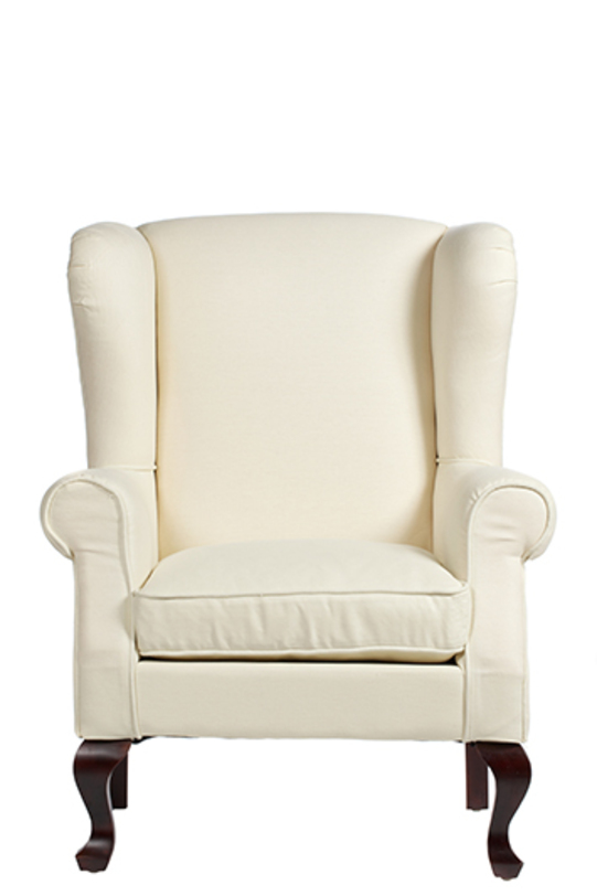 Кресло SohoКресла с высокой спинкой<br>Кресло с высокой спинкой и скругленными мягкими подлокотниками - яркий предмет обстановки, который впишется как в классический английский стиль, так и в современный интерьер, оформленный в стиле ар-деко. Каркас кресла изготовлен из дубовой древесины, а спинка и сиденье обиты беленым льном. Изюминку креслу придают низкие гнутые ножки кабриоль и загнутая внутрь спинка.<br><br>Материал: деревянный каркас (дуб)<br>Обивка: ткань (лен)<br>Вес: 17 кг<br><br>Material: Текстиль<br>Width см: 77<br>Depth см: 75<br>Height см: 111