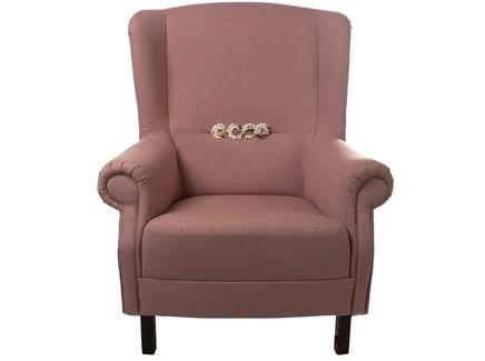Кресло цветы прованса (la neige) розовый 87.0x100.0x88.0 см.