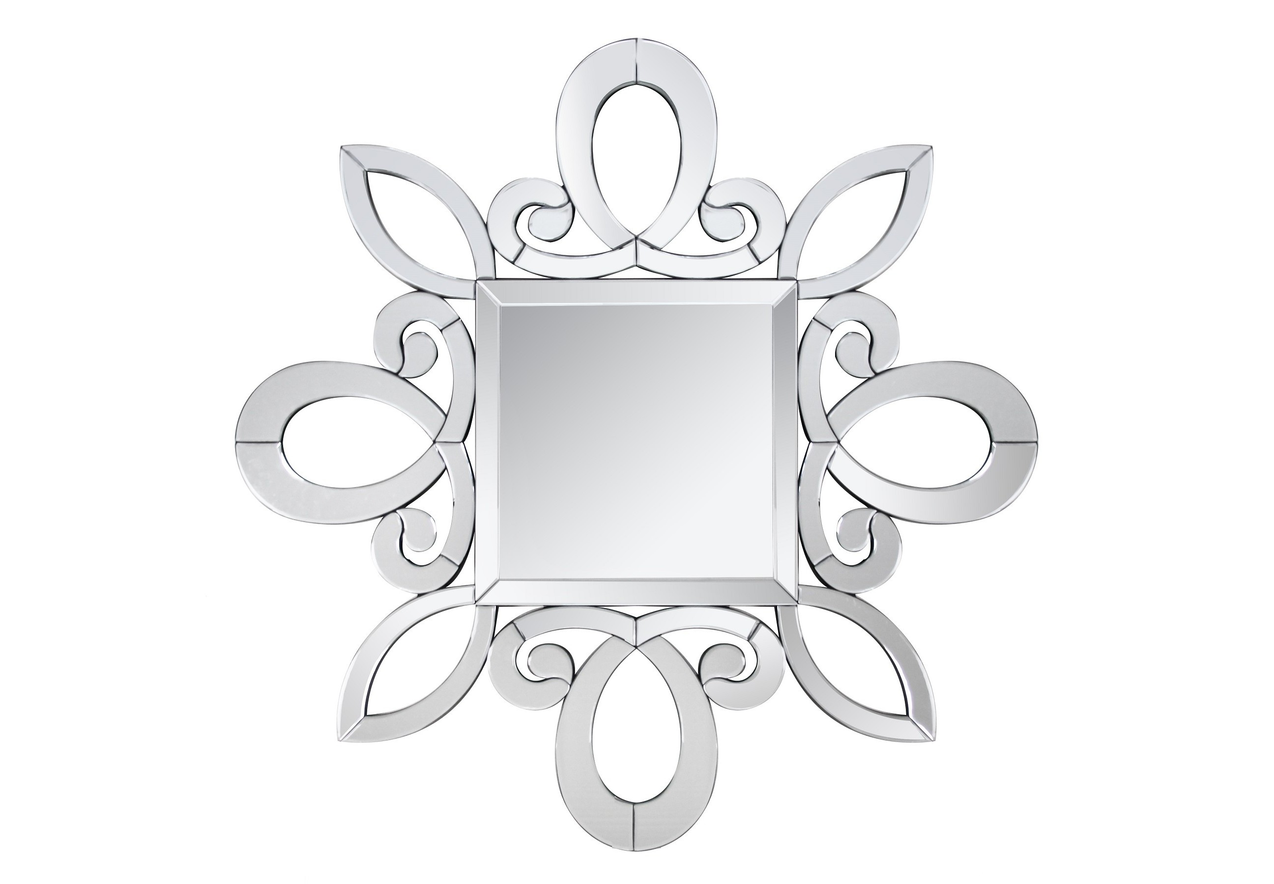 Зеркало FreddoНастенные зеркала<br><br><br>Material: МДФ<br>Length см: None<br>Width см: 100<br>Depth см: 1,9<br>Height см: 100