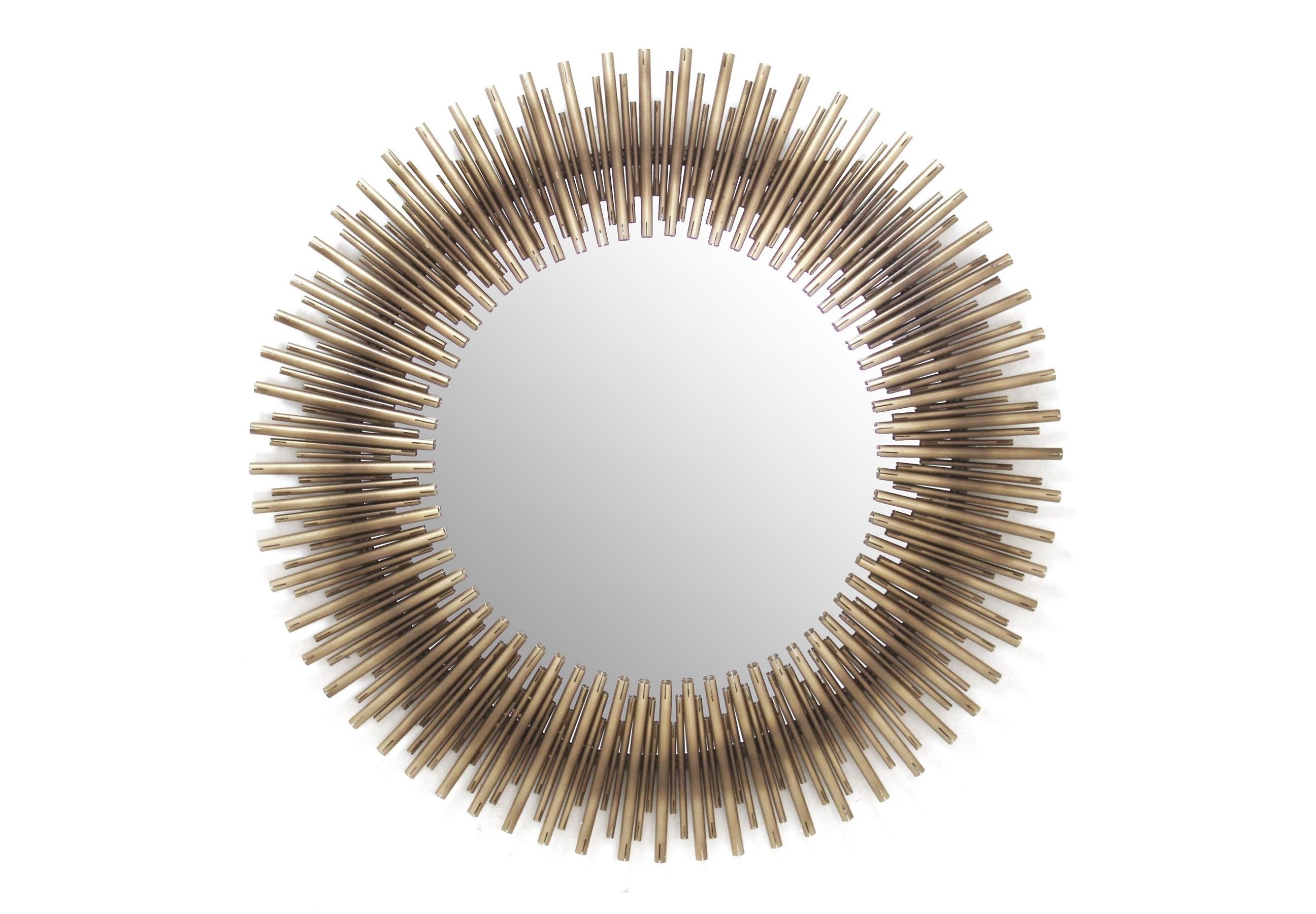Зеркало RaggiНастенные зеркала<br><br><br>Material: Металл<br>Length см: None<br>Width см: None<br>Depth см: 4,1<br>Height см: None<br>Diameter см: 106,5