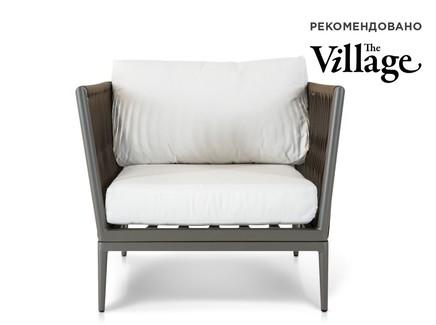 Кресло касабланка (outdoor) коричневый 86.0x72x86.0 см.