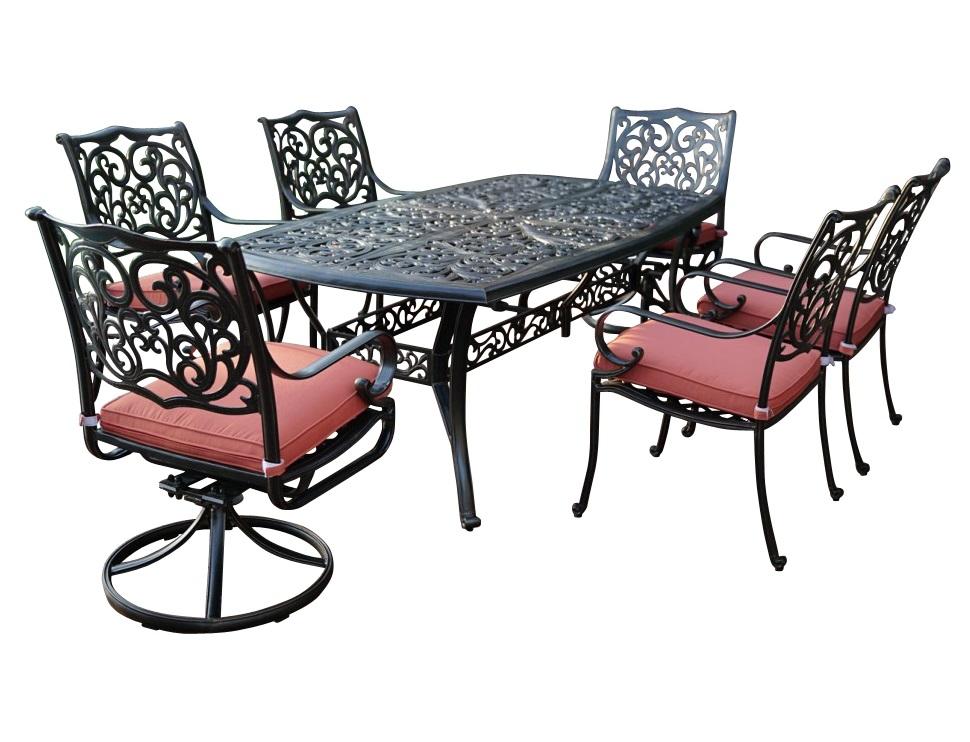 Комплект БарселонаКомплекты уличной мебели<br>Мебель из литого алюминия прекрасно гармонирует с современными стилями, помимо классики, все чаще видим модели оригинального органического и футуристического дизайна.?? Преимущества мебели из литого алюминия - это способность выдержать любые капризы природы, можно даже оставить под открытым небом на зиму.??&amp;lt;div&amp;gt;&amp;lt;br&amp;gt;&amp;lt;/div&amp;gt;&amp;lt;div&amp;gt;&amp;lt;div&amp;gt;2 вращающихся кресла с подушками: 60х70,5х95см&amp;lt;/div&amp;gt;&amp;lt;div&amp;gt;&amp;lt;span style=&amp;quot;font-size: 14px;&amp;quot;&amp;gt;4 кресла с подушками: 60х70,5х95см&amp;lt;/span&amp;gt;&amp;lt;/div&amp;gt;&amp;lt;div&amp;gt;&amp;lt;span style=&amp;quot;font-size: 14px;&amp;quot;&amp;gt;прямоугольный обеденный стол: 214х112х73см&amp;lt;/span&amp;gt;&amp;lt;/div&amp;gt;&amp;lt;div&amp;gt;&amp;lt;span style=&amp;quot;font-size: 14px;&amp;quot;&amp;gt;Материал каркаса: литой алюминий&amp;lt;/span&amp;gt;&amp;lt;br&amp;gt;&amp;lt;/div&amp;gt;&amp;lt;div&amp;gt;Материал ткани: spunpoly (подушка)&amp;lt;/div&amp;gt;&amp;lt;div&amp;gt;&amp;lt;br&amp;gt;&amp;lt;/div&amp;gt;&amp;lt;div&amp;gt;&amp;lt;br&amp;gt;&amp;lt;/div&amp;gt;&amp;lt;div&amp;gt;&amp;lt;/div&amp;gt;&amp;lt;/div&amp;gt;<br><br>Material: Алюминий<br>Ширина см: 214<br>Высота см: 73<br>Глубина см: 112