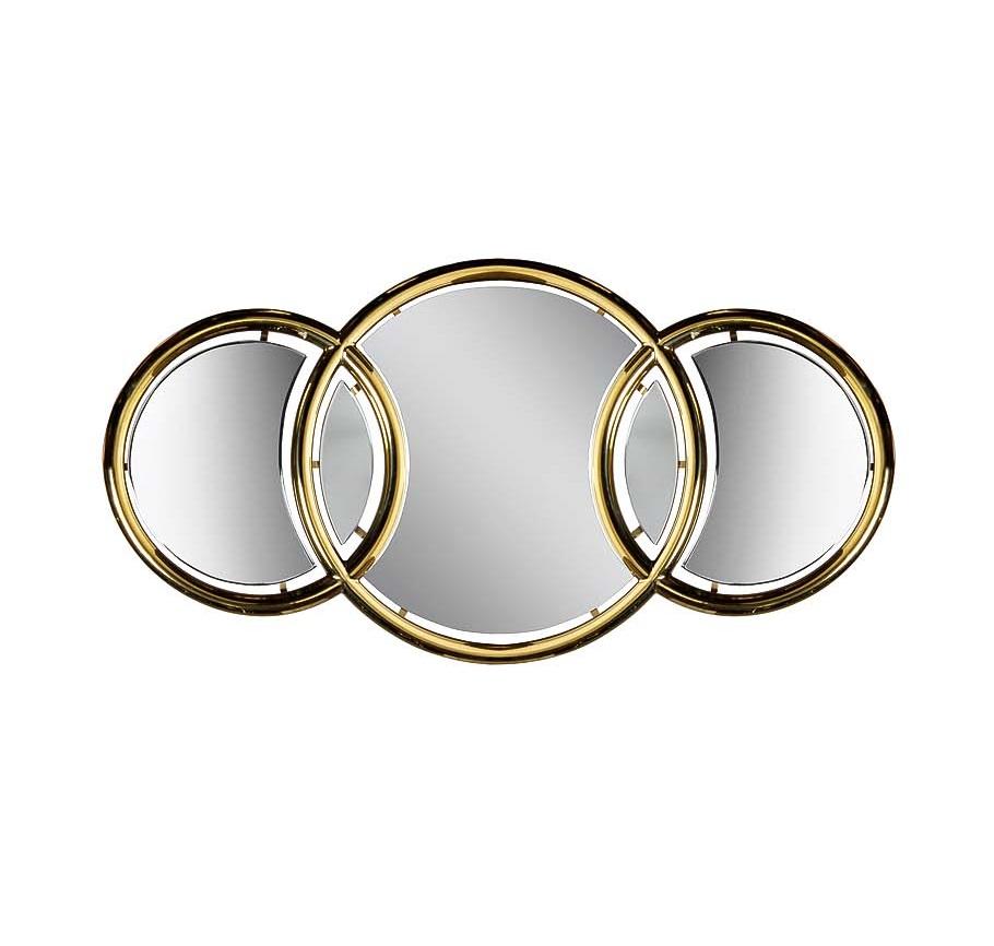 ЗеркалоНастенные зеркала<br><br><br>Material: МДФ<br>Width см: 109<br>Depth см: 3,2<br>Height см: 55,5