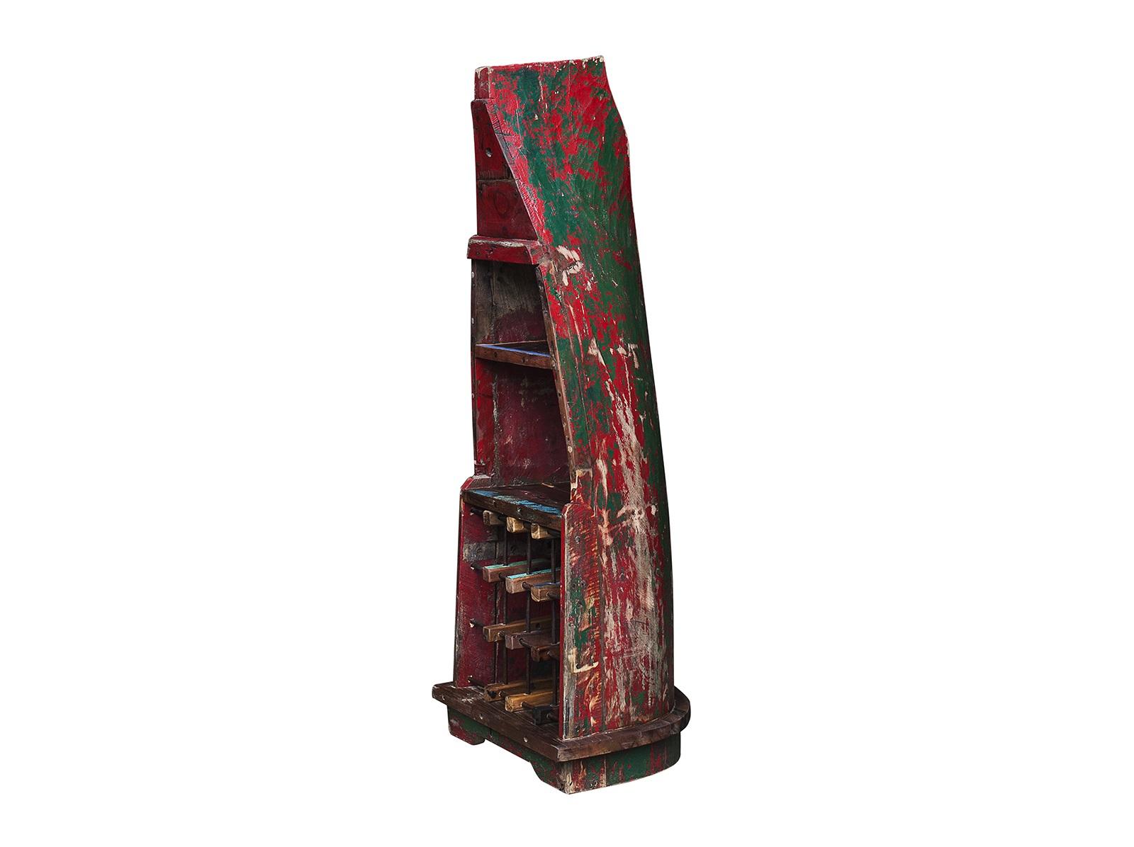 Винный шкаф ЛаптевВинные шкафы<br>Винный шкаф, выполненный из старой рыбацкой лодки классической правильной формы с сохранением оригинальной многослойной окраски. Хранит до 15 бутылок. Подходит для использования как внутри помещения, так и снаружи.&amp;amp;nbsp;&amp;lt;div&amp;gt;&amp;lt;br&amp;gt;&amp;lt;/div&amp;gt;&amp;lt;div&amp;gt;Покрытие: шеллак&amp;amp;nbsp;&amp;lt;/div&amp;gt;&amp;lt;div&amp;gt;Материал: массив тика (махогони, суара)&amp;lt;/div&amp;gt;<br><br>Material: Тик<br>Length см: None<br>Width см: 43<br>Depth см: 54<br>Height см: 143<br>Diameter см: None