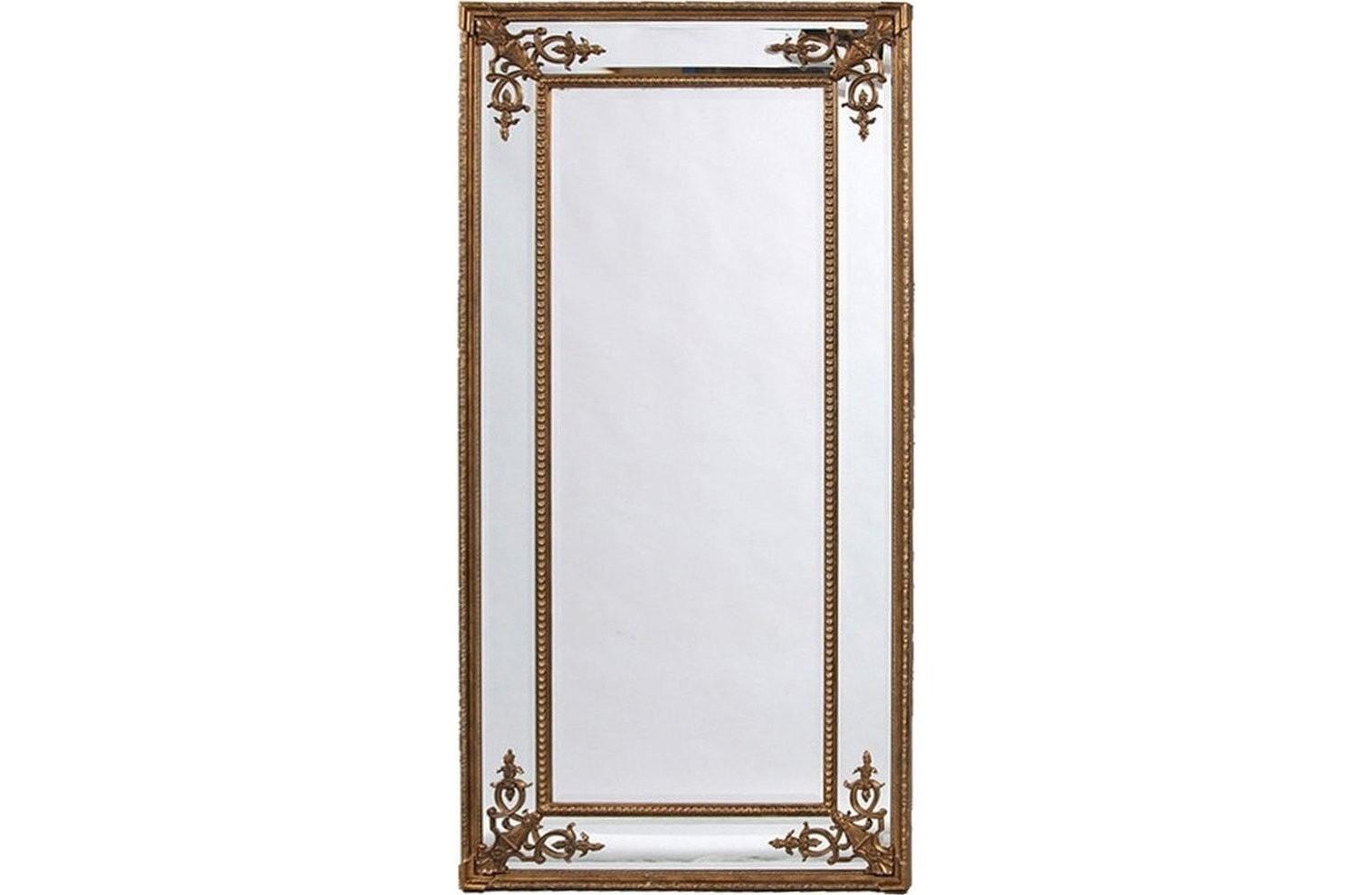 Напольное зеркало венето (золото) (francois mirro) золотой 92.0x200.0x6.0 см.