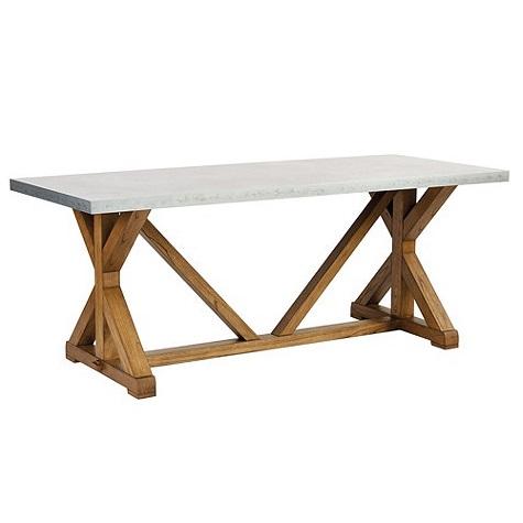 Обеденный стол TatumОбеденные столы<br><br><br>Material: Бук<br>Ширина см: 200<br>Высота см: 80<br>Глубина см: 75
