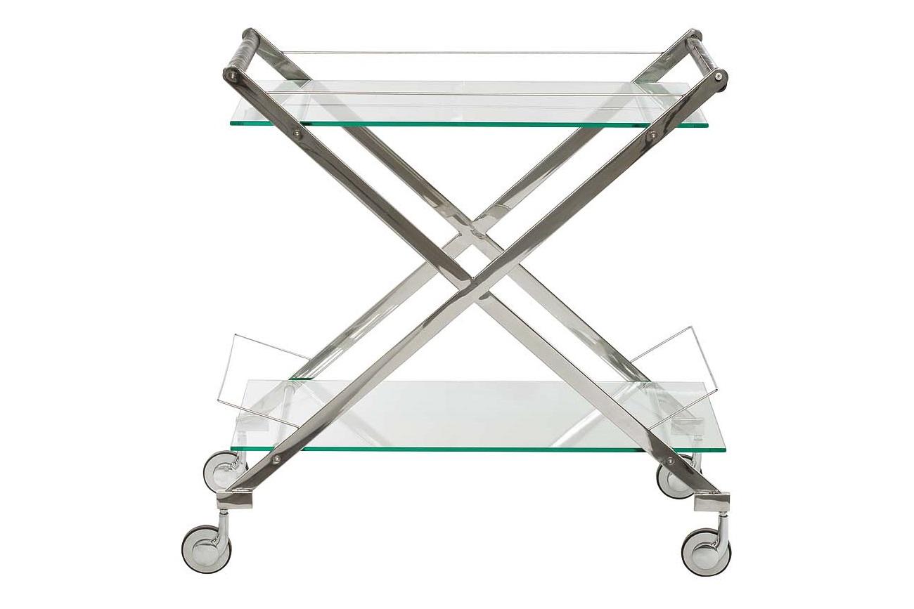 Сервировочный столикСервировочные столики<br><br><br>Material: Стекло<br>Ширина см: 83<br>Высота см: 80<br>Глубина см: 40