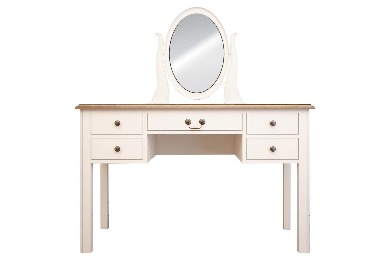 Бежевый туалетный стол OliviaТуалетные столики<br><br><br>Material: Дерево<br>Ширина см: 120<br>Высота см: 150<br>Глубина см: 45