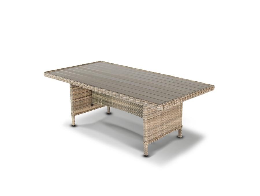 Стол ЦесенаСтолы и столики для сада<br><br><br>Material: Искусственный ротанг<br>Length см: None<br>Width см: 200<br>Depth см: 100<br>Height см: 72
