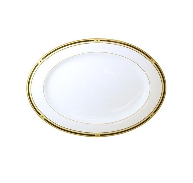 Овальное блюдо ВиндзорДекоративные блюда<br><br><br>Material: Керамика<br>Diameter см: 32