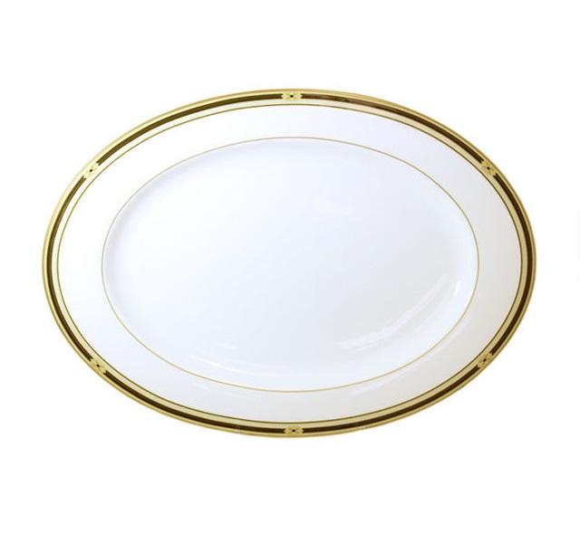 Овальное блюдо ВиндзорДекоративные блюда<br><br><br>Material: Фарфор<br>Diameter см: 38